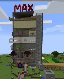 Minecraft-WG fertig